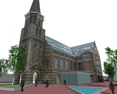 ontwerp Kerkplein Hoorn