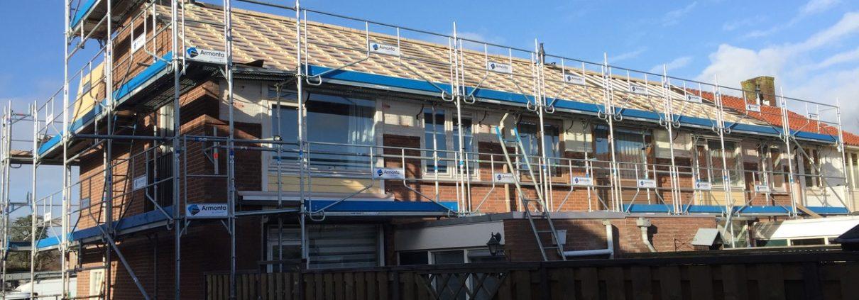 uitvoering renovatie 55 woningen Uithoorn