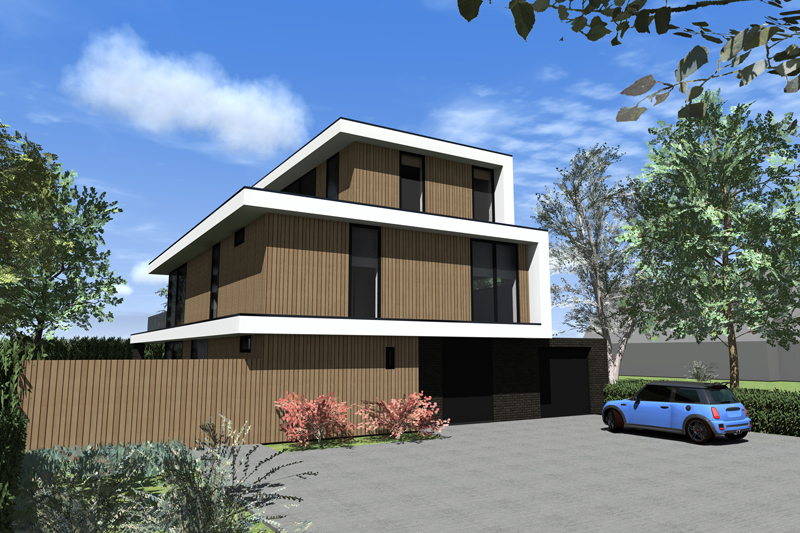 ontwerp villa Nieuwveen