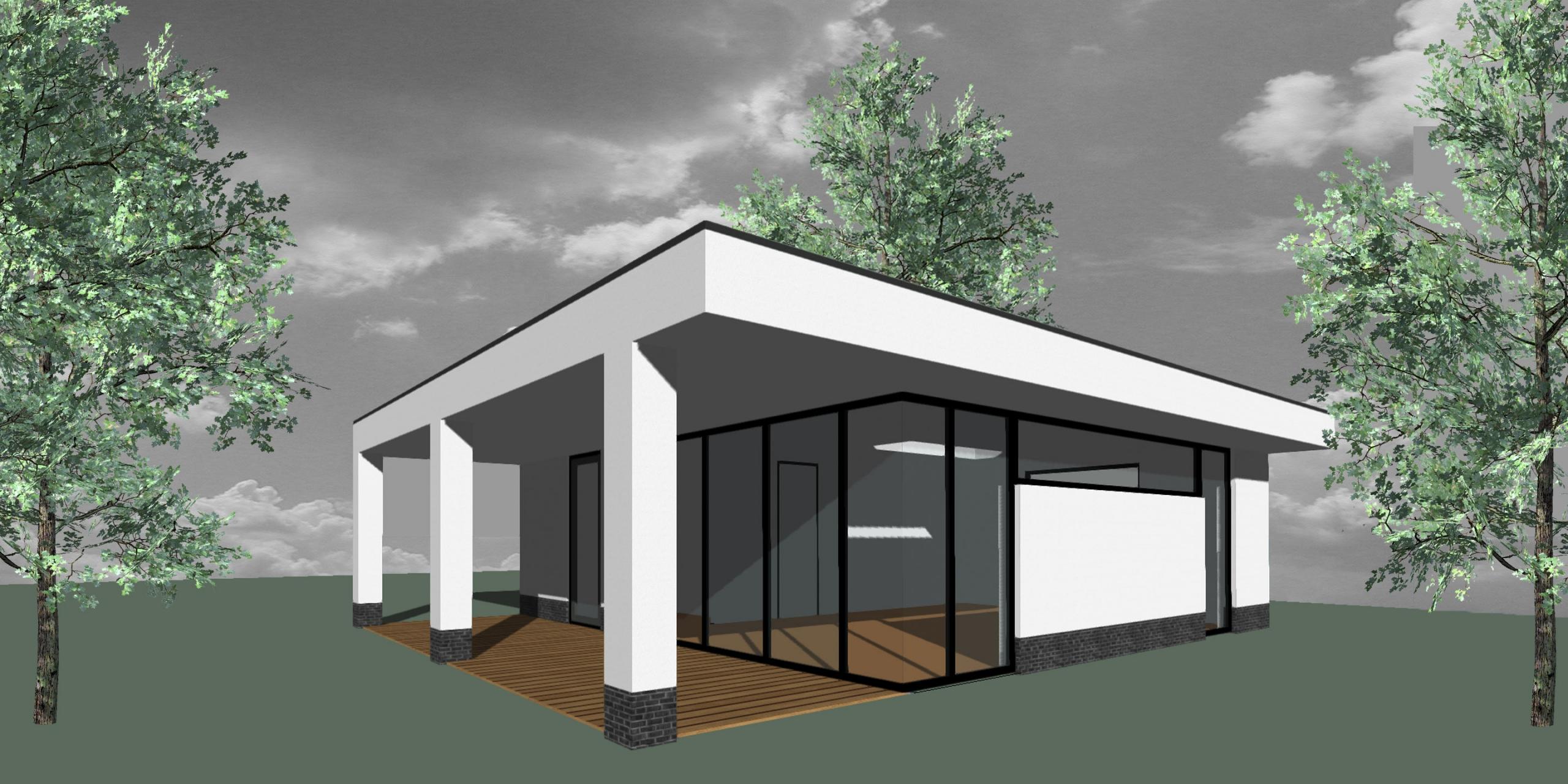 Modern atelier bijgebouw Almere