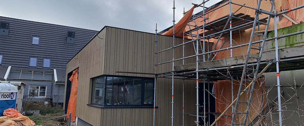 bouw watervilla Zuidhoek Nieuwkoop